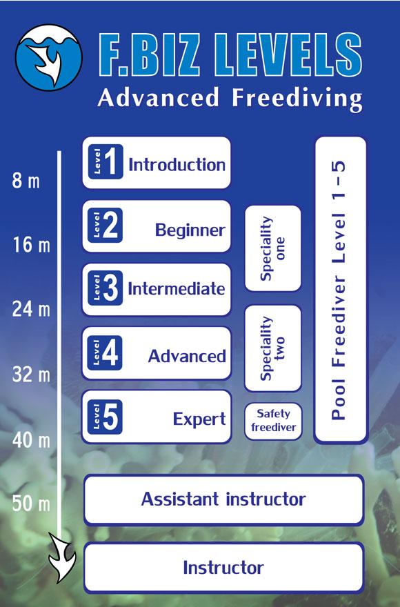Freediving.biz Education System