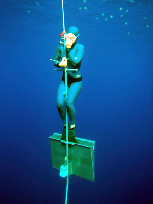 World Record Free Diving